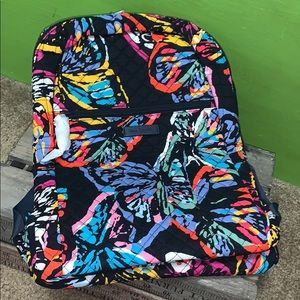 Vera Bradley right size backpack butterfly flutter